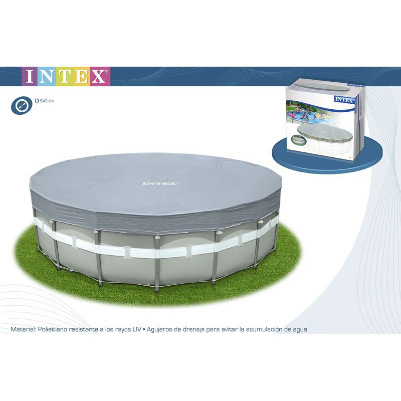 Bestway cobertor para piscina 244x61 bebemi for Piscina estructural intex