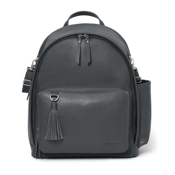 SKIP HOP - MOCHILA MATERNAL GREEWICH SIMPLY CHIC SMOKE
