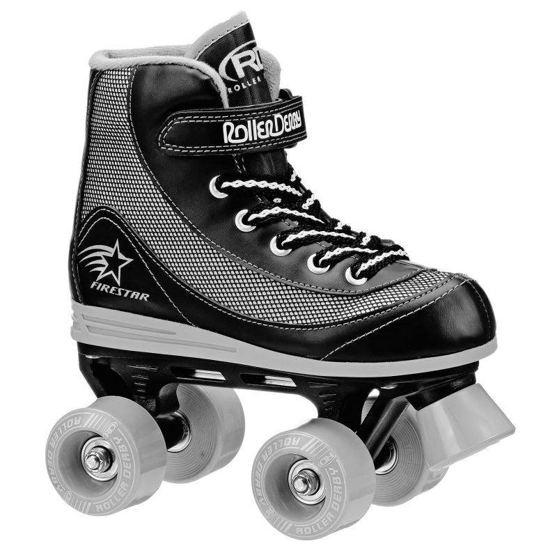 ROLLER DERBY - PATIN FIRESTAR  BLACK TALLE 31.50