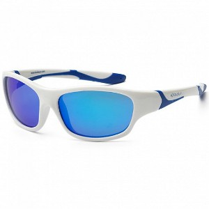 KOOLSUN - SPORT LENTE DE SOL WHITE ROYAL BLUE 3-8 AÑOS