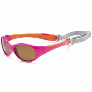 2874c6b5c6 KOOLSUN - FLEX LENTE DE SOL HOT PINK ORANGE 0-3 AÑOS - Bebemi