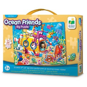 THE LEARNING JOURNEY - PUZZLE DE PISO AMIGOS DEL OCEANO 12 PIEZAS