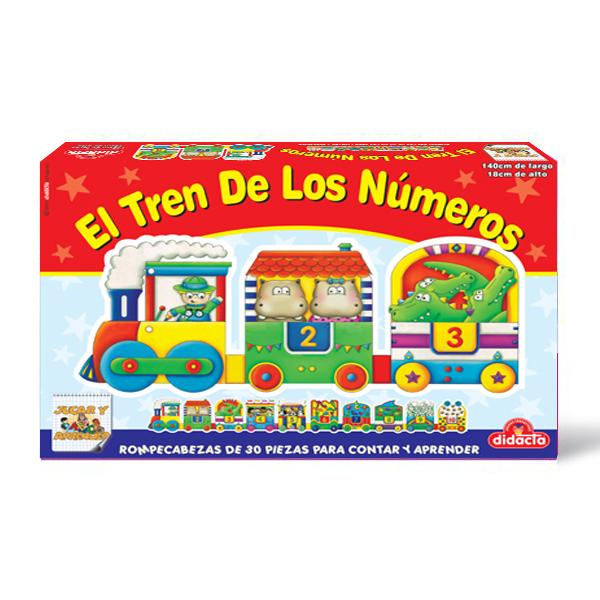 DIDACTA - EL TREN DE LOS NUMEROS