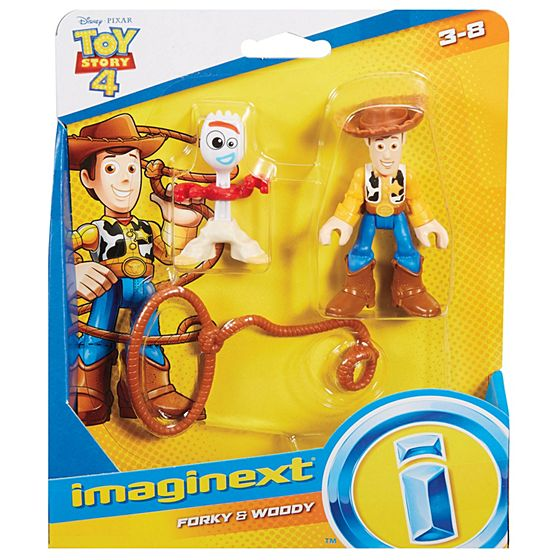 FISHER PRICE - WOODY TOY STORY IMAGINEXT