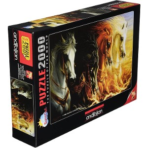 ANATOLIAN - PUZZLE 2000 PIEZAS THE FOUR HORSES OF AP