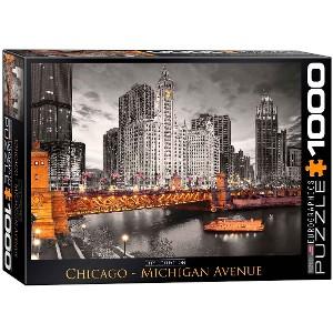 EUROGRAPHICS - PUZZLE 1000 PZAS CHICAGO MICHIGAN AVENUE
