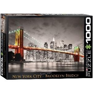 EUROGRAPHICS - PUZZLE 1000 PZAS NEW YORK CITY BROOKLYN