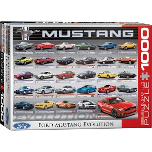 EUROGRAPHICS - PUZZLE 1000 PZAS FORD MUSTANG EVOLUTION
