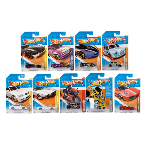 HOT WHEELS -  AUTITO INDIVIDUAL BLISTER