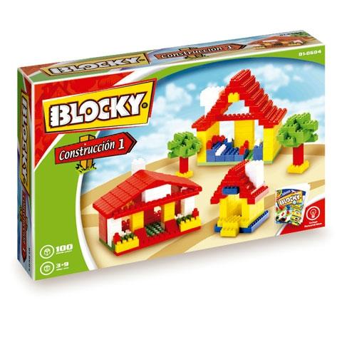 BLOCKY - CONSTRUCC.1 100 PIEZAS