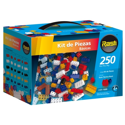 RASTI - KIT X250 PIEZAS BASICAS