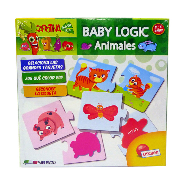CAROTINA - BABY LOGIC ANIMALES