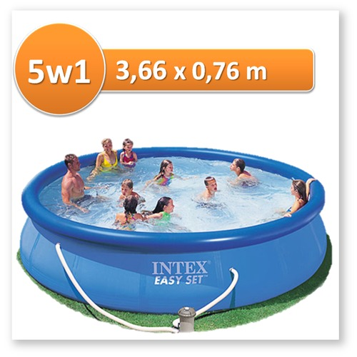INTEX - PISCINA GOMON 366X76CM 5621L 28132