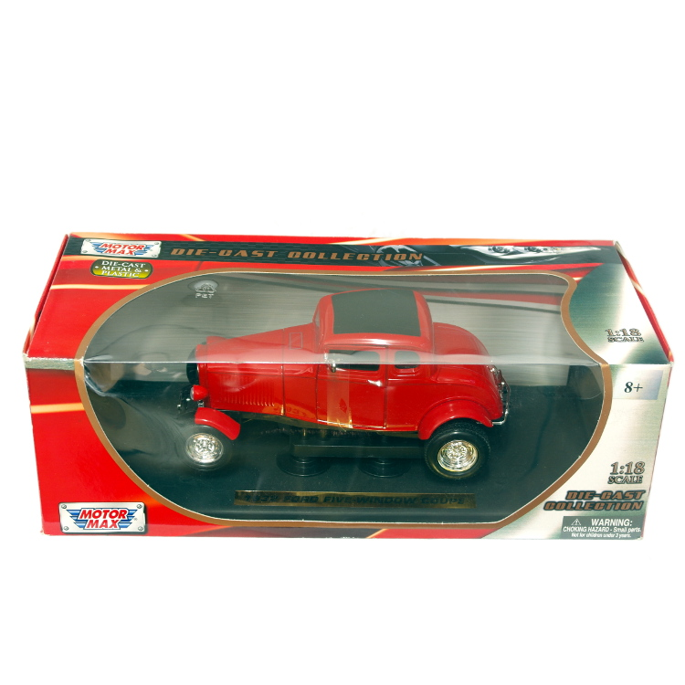 MOTORMAX - 1:18 FIVE WINDOW COUPE 1932