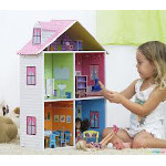 Casas y muebles de muñecas