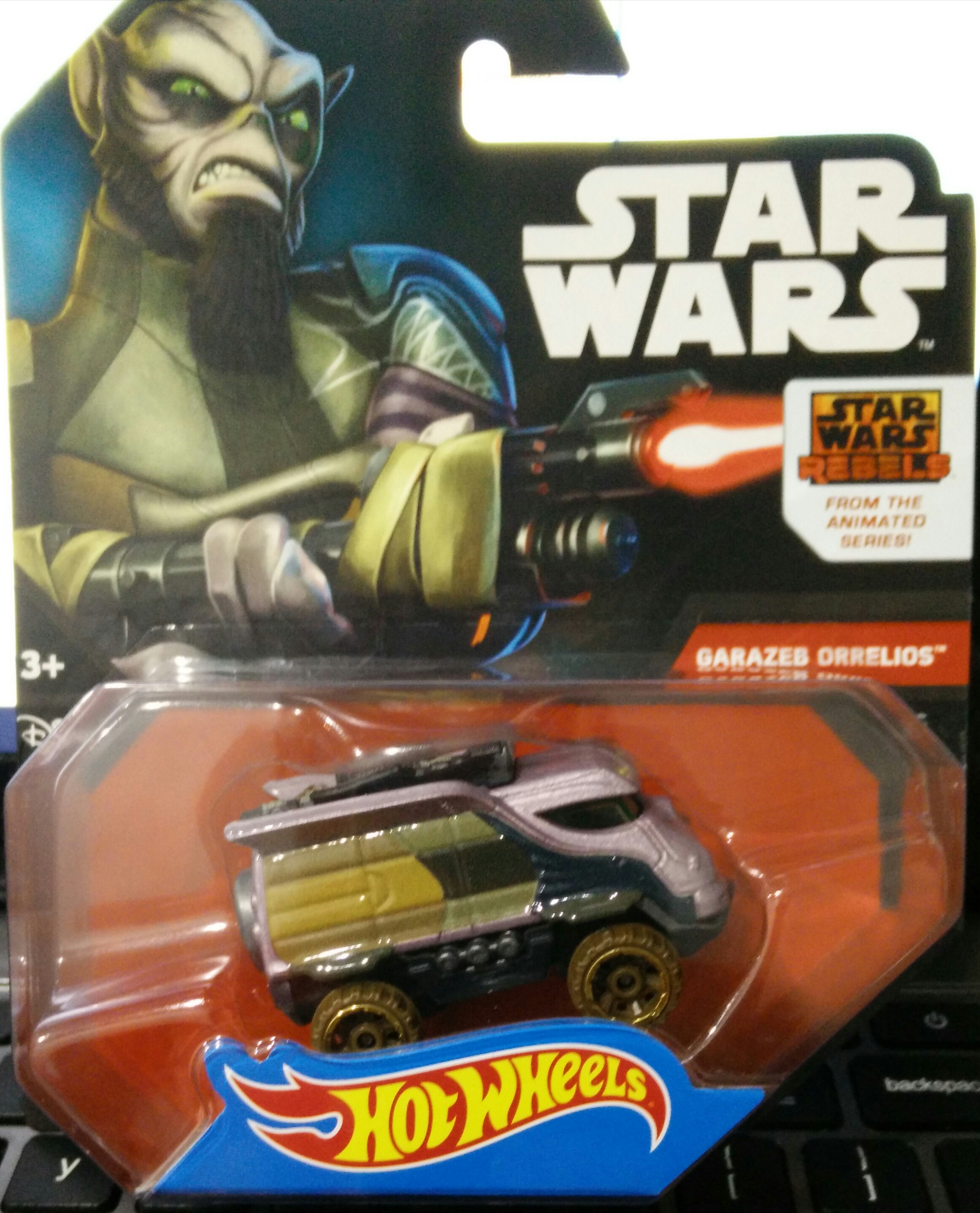 HOT WHEELS - STAR WARS VEHICULO Rebels Zeb