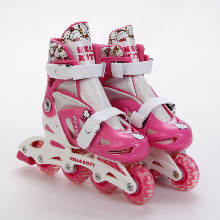 Hello Kitty - PATIN 4 EN LINEA 30-33 y 34-37