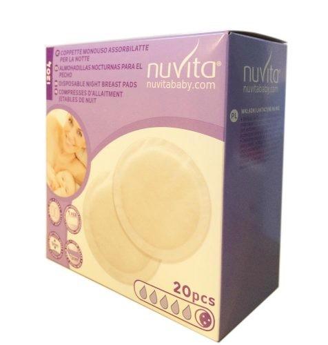NUVITA - DISCOS ABSORBENTES NOCHE