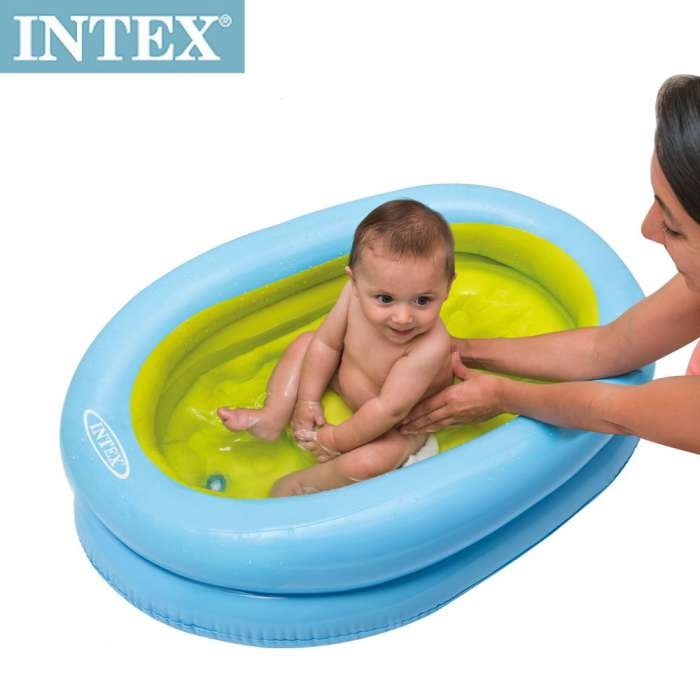 INTEX - BAÑITO INFLABLE BABY ON THE GO 48421