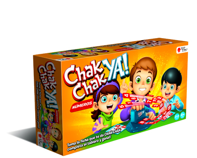 TOP TOYS - CHACK CHACK YA NUMEROS