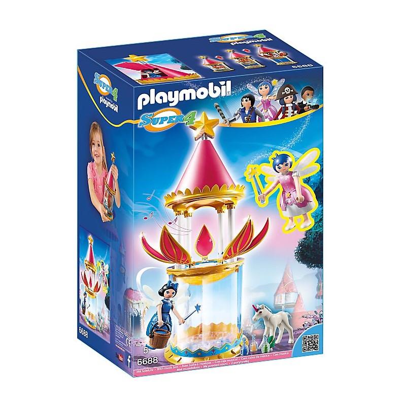 PLAYMOBIL - TORRE FLOR MUSICAL CON HADA LINEA SUPER 4