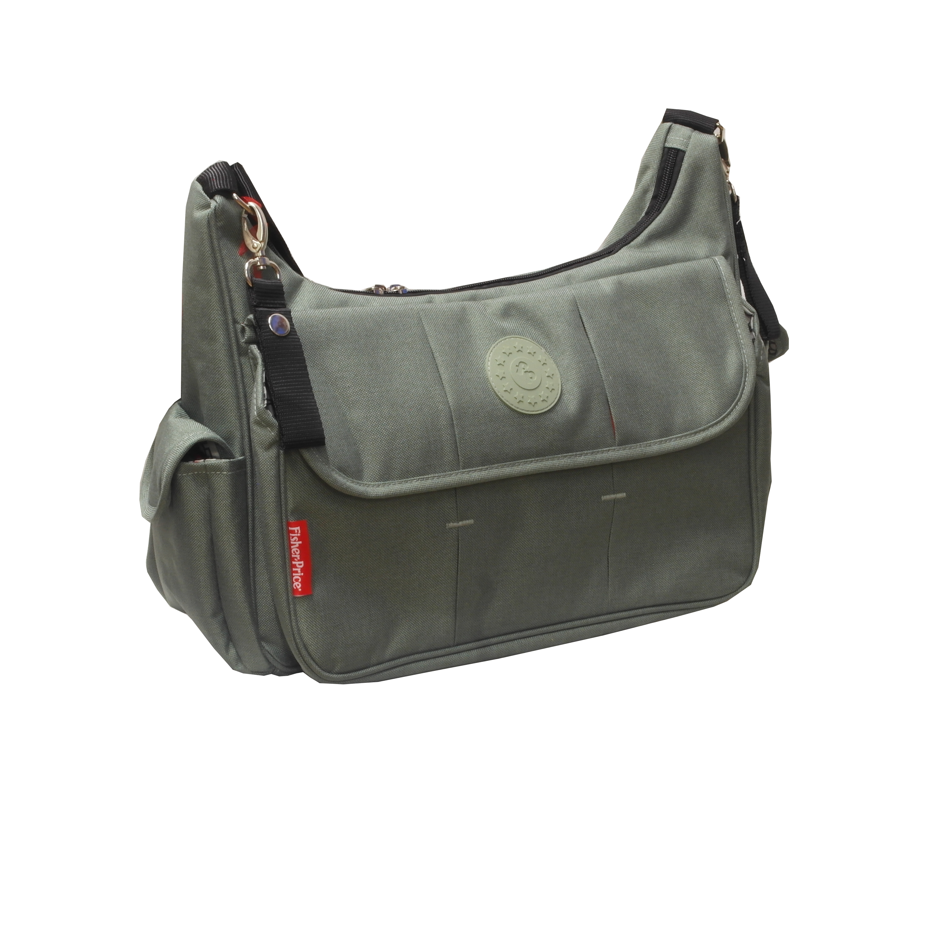 FISHER PRICE - BOLSO MATERNAL GRIS